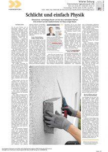 Wiener Zeitung, Februar 2017