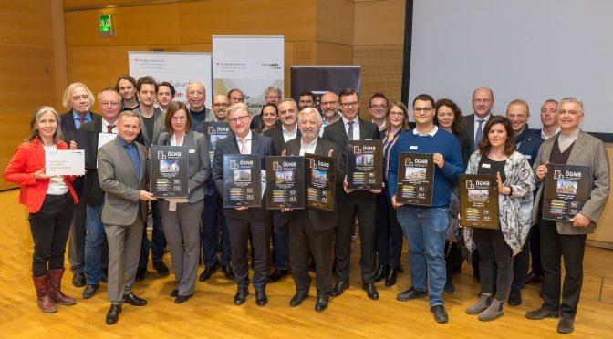 Auszeichnung an 30 nachhaltige Gebäude